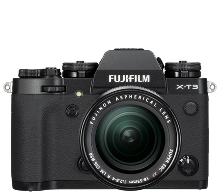 Fujifilm XT3 Kit 18-55mm f/2.8-4 R LM OIS Black
