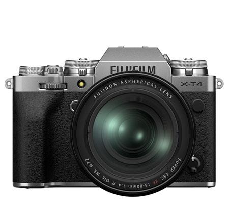 Fujifilm X-T4 Kit 16-80mm f/4 R OIS WR Silver