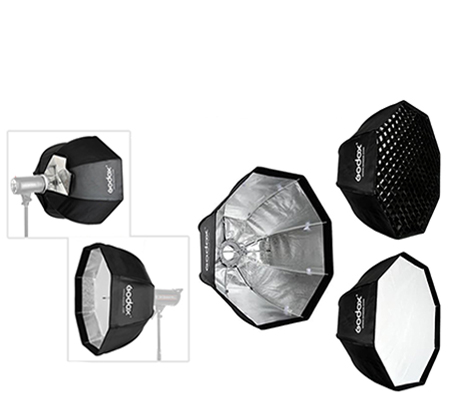 Godox SB-GUE Octa 120 Umbrella Softbox with Grid