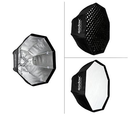Godox SB-GUE Octa 120 Umbrella Softbox with Grid