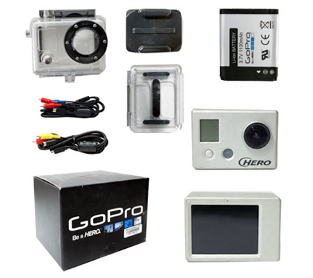 ::: USED ::: GoPro Hero 1 With LCD Backpack (Very Good To Excellent-970)