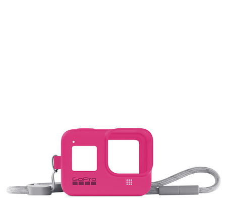 GoPro Sleeve + Lanyard For Hero 8 Electric Pink