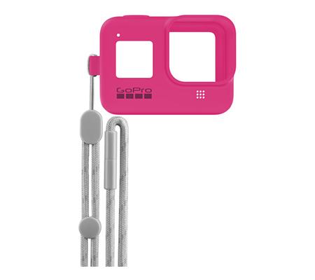 GoPro Sleeve + Lanyard For Hero 8 Electric Pink