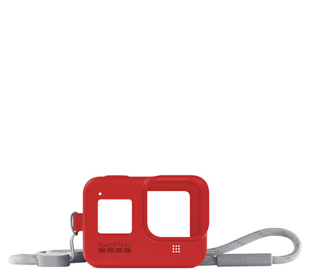 GoPro Sleeve + Lanyard For Hero 8 Firecracker Red