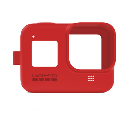 GoPro Sleeve + Lanyard For Hero 8 Firecracker Red