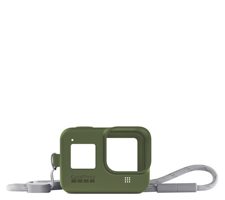 GoPro Sleeve + Lanyard For Hero 8 Turtle Green