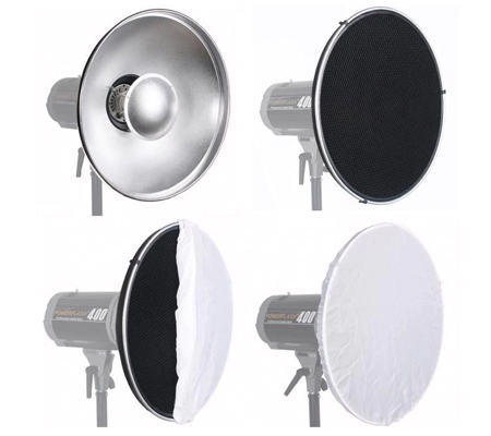 Godox Beauty Dish with Grid 55cm BDR-S & C-01