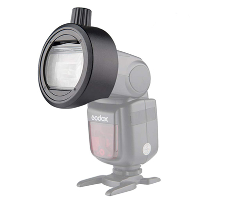 Godox S-R1 Round Flash Head Magnetic Modifier Adapter