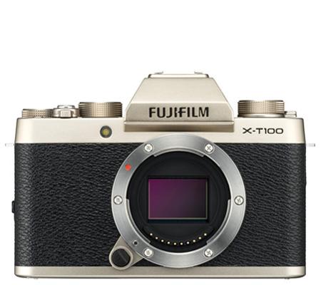 Fujifilm X-T100 Body Champagne Gold