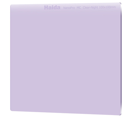 Haida 100 x 100mm NanoPro MC Clear-Night Filter HD3702