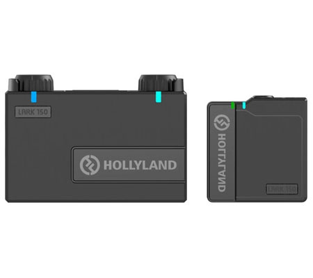Hollyland Lark 150 Clip On Wireless Solo Microphone System
