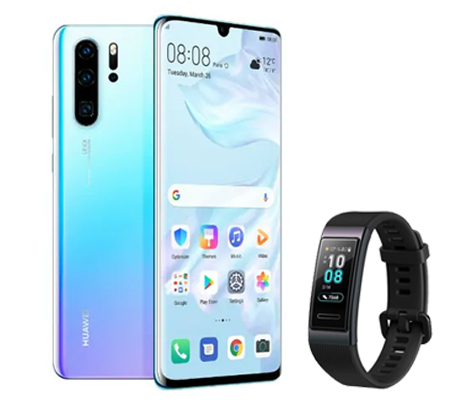 Huawei P30 Pro + Huawei Band 3 Smart Watch