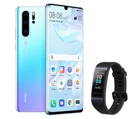 Huawei P30 Pro + Huawei Band 3 Smart Watch