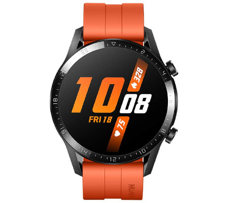 :::USED:::Huawei Watch GT 2 (46mm) Smart Watch Sunset Orange 100%S Brand New Consignment