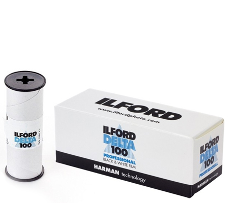 Ilford Delta 100 Professional ASA 100 BW 120 Roll Film