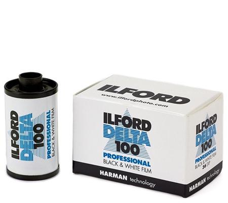 Ilford Delta 100 Professional 135 ASA 100 BW 35mm 36Exp Roll Film