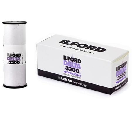 Ilford Delta 3200 Professional ASA 3200 BW 120 Roll Film
