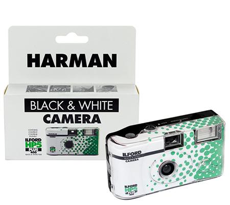 Ilford Harman HP5 PLUS 400 Black & White Disposable Camera