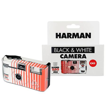 Ilford Harman XP2 SUPER 400 C41 Black & White Disposable Camera
