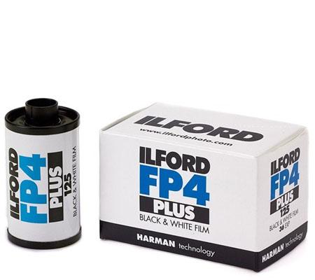 Ilford FP4 Plus 135 ASA 125 BW 35mm 36Exp Roll Film