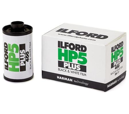 Ilford HP5 Plus 135 ASA 400 BW 35mm 36Exp Roll Film
