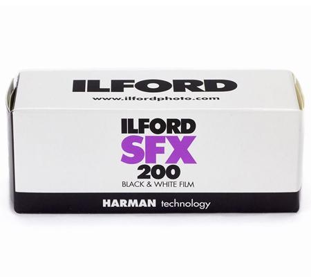 Ilford SFX 200 ASA 200 BW 120 Roll Film