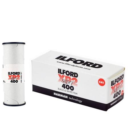Ilford XP2 Super 400 ASA 400 BW 120 Roll Film