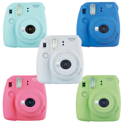 Fujifilm Instax Mini 9 Camera Cobalt Blue