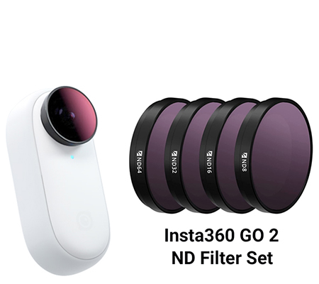 Freewell Standard Day 4 Pack ND Filter Set for Insta360 GO2