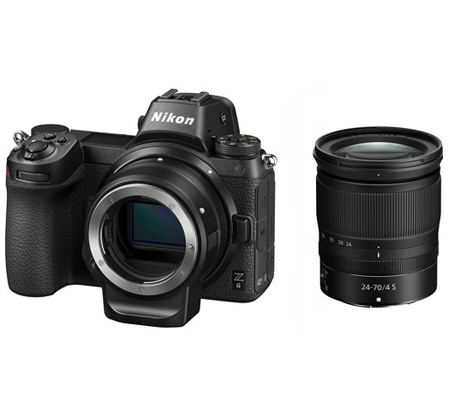 Nikon Z6 Kit with 24-70mm Lens + FTZ Mount Adapter