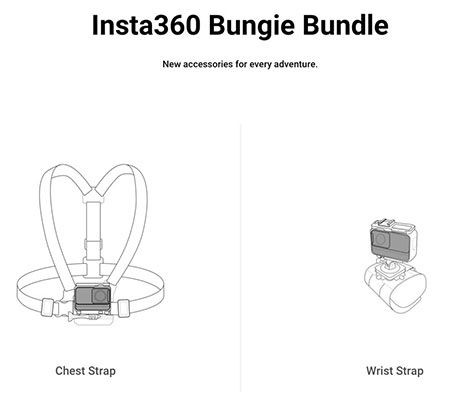 Insta360 Bungie Bundle for ONE R, ONE X, ONE Action Camera