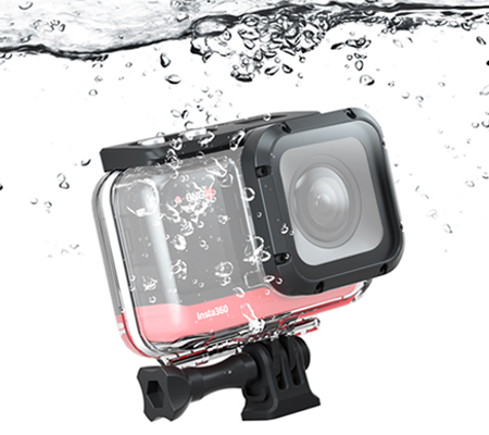 Insta360 ONE R 4K Edition Dive Case Housing 60m