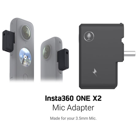 Insta360 ONE X2 Mic Adapter