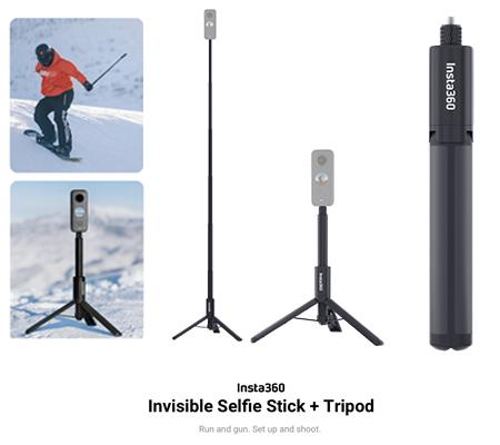 Insta360 Invisible Selfie Stick + Tripod