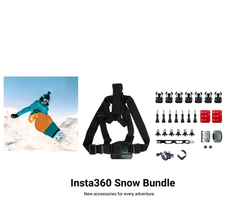 Insta360 Snow Bundle for ONE X2/ONE R