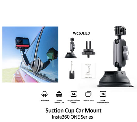 Insta360 Suction Cup Car Mount