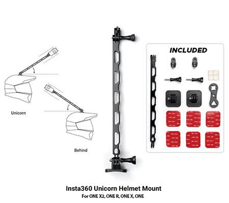 Insta360 Unicorn Helmet Mount for ONE X2, ONE R, ONE X, ONE
