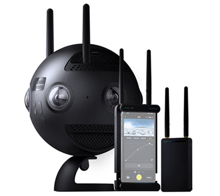 Insta360 Pro 2 Spherical VR 360 8K Camera with FarSight Monitoring