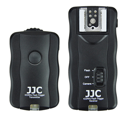 JJC JF-U1 Wireless Remote Control & Flash Trigger Kit (1 Transmitter + 1 Receivers)