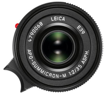 Leica APO-Summicron-M 35mm f/2 ASPH. Lens (Black) 11699