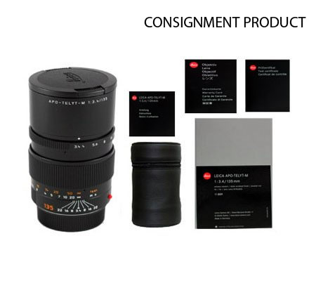 :::USED::: Leica APO-Telyt-M 135mm F/3.4 6-Bit (11889) (Mint-629) CONSIGNMENT