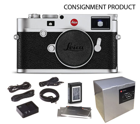 :::USED::: Leica M10 Silver Chrome Finish (20001) (Mint-995) Consignment