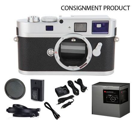 :::USED:::Leica M Monochrom Digital Camera (Silver) 10787 Exmint Kode 842 Consignment
