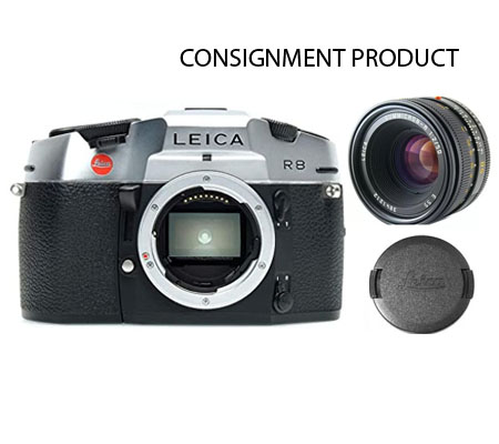 :::USED::: LEICA R8 Camera Body Plus Leica SUMMICRON-R 50mm f/2 (Exmint-177/256) CONSIGNMENT