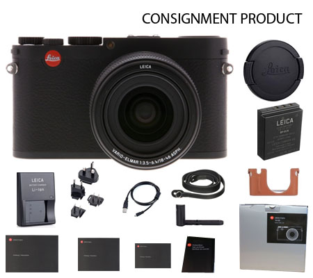 :::USED::: Leica X Vario Black (Typ 107) 18430 (Ex-Mint) Kode 894 Consignment