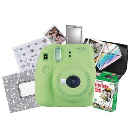 Fujifilm Ginza Package Instax Mini 9 (Lime Green)
