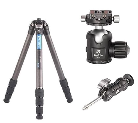 Leofoto LS284C Carbon Tripod With Ball Head NB40 + Magic Arm AM-2
