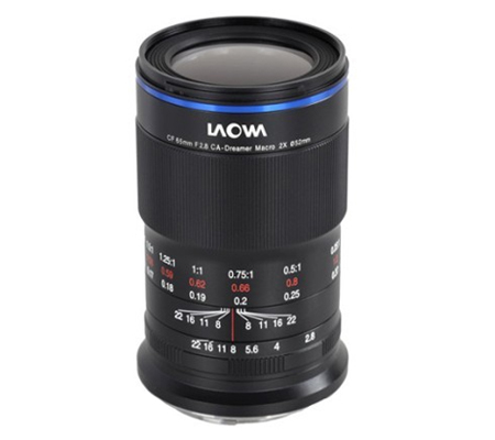 Laowa 65mm f/2.8 2x Ultra Macro APO Venus Optics Lens for Fujifilm X