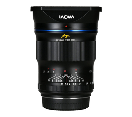 Laowa Argus 33mm f0.95 CF APO for Canon RF Venus Optics
