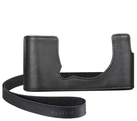 Fujifilm Leather Half Case For Fujifilm XA7 Black